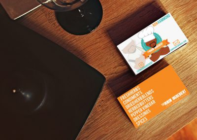 The Main Ingredient business cards