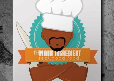The Main Ingredient logo design