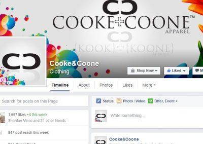Facebook social media design