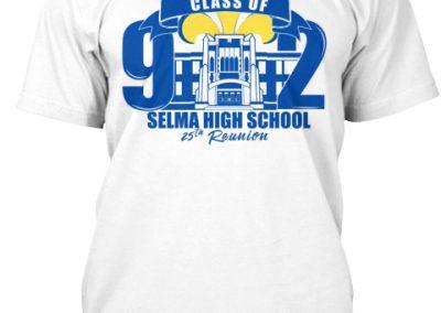 Selma HS Class of 1992 T-shirt Mockup